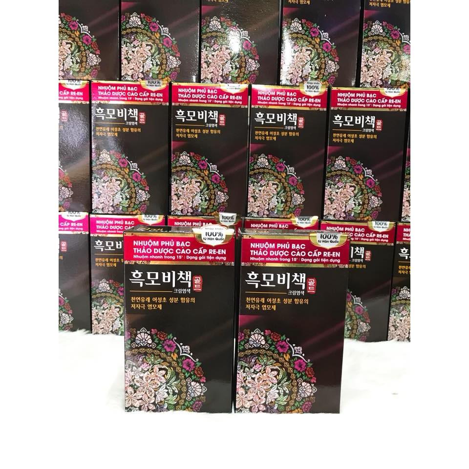(PHỦ BẠC 100%) Thuốc nhuộm tóc Thảo Dược cao cấp RE-EN nhập khẩu chính hãng Hàn Quốc - 3306844 , 857552026 , 322_857552026 , 290000 , PHU-BAC-100Phan-Tram-Thuoc-nhuom-toc-Thao-Duoc-cao-cap-RE-EN-nhap-khau-chinh-hang-Han-Quoc-322_857552026 , shopee.vn , (PHỦ BẠC 100%) Thuốc nhuộm tóc Thảo Dược cao cấp RE-EN nhập khẩu chính hãng Hàn Quốc