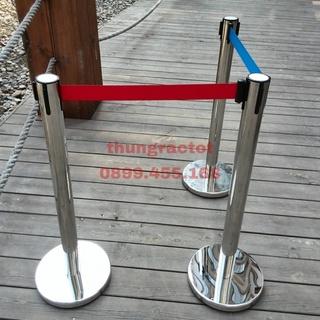 Cột chắn inox dây căng 3m giá rẻ M-004B
