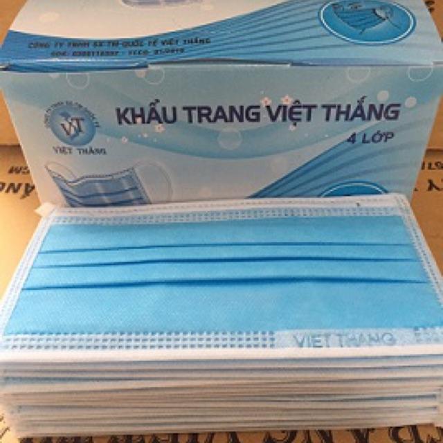 Khẩu trang y tế 4 lớp Việt Thắng