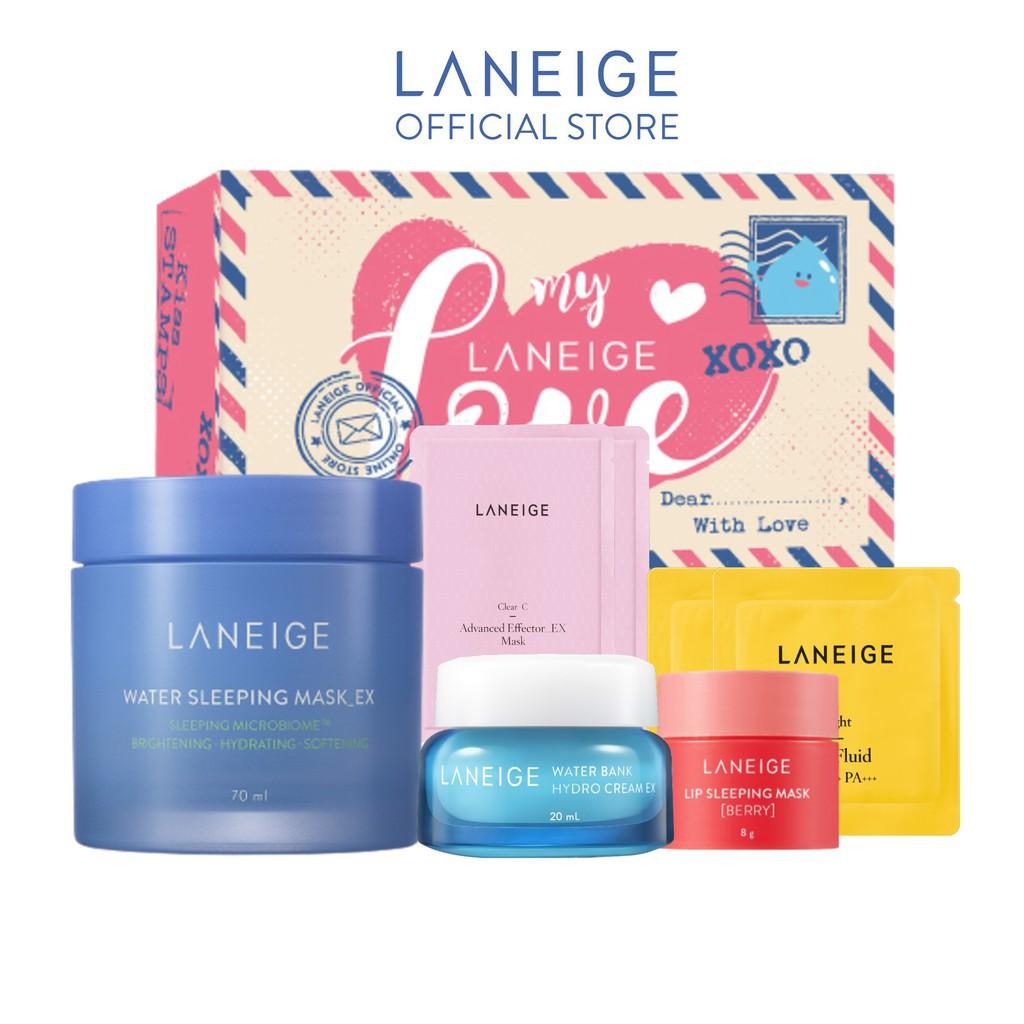 [ĐỘC QUYỀN SBD] Bộ sản phẩm quà tặng dưỡng ẩm cho da và căng tràn sức sống Laneige