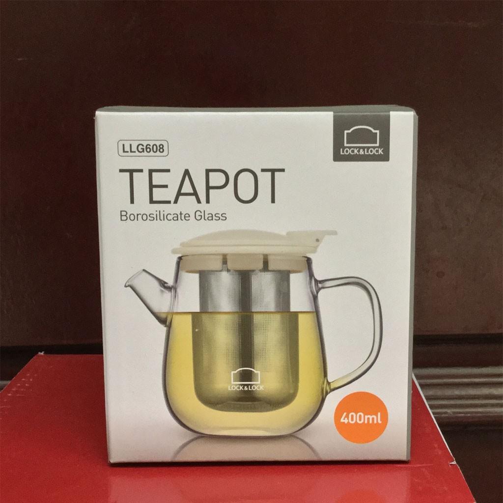 Bình lọc trà thủy tinh có tay cầm Lock&lock Teapot LLG608 400ml nắp trắng - 2466502 , 877929852 , 322_877929852 , 300000 , Binh-loc-tra-thuy-tinh-co-tay-cam-Locklock-Teapot-LLG608-400ml-nap-trang-322_877929852 , shopee.vn , Bình lọc trà thủy tinh có tay cầm Lock&lock Teapot LLG608 400ml nắp trắng