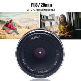 Ống kính Meike 25mm F.18 Manual focus cho máy ảnh Canon M, Fujifilm, Sony