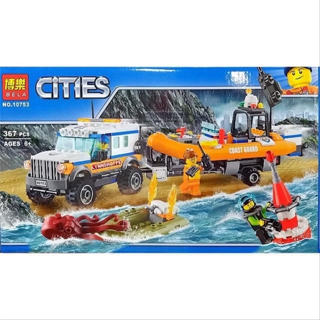 Lắp ráp Bela Cities - ĐỘI CỨU HỘ TRÊN BIỂN