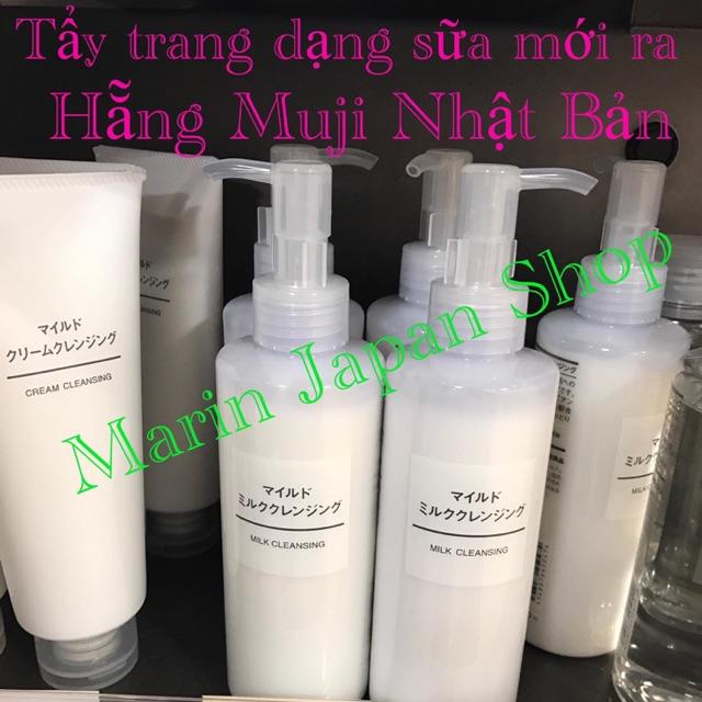 (Store Muji Nhật Bản) tẩy trang dạng sữa Milk Cleansing Muji Nhật Bản