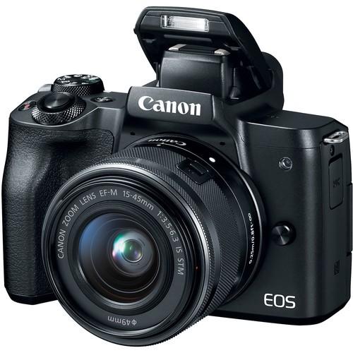 Máy ảnh Canon EOS M50 + Lens 15-45mm