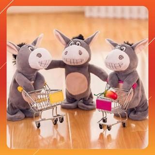 """MAU MOI """" Đồ chơi lừa Donkey biết nói bé cực yêu thích TN60340 MỚI HOT"""