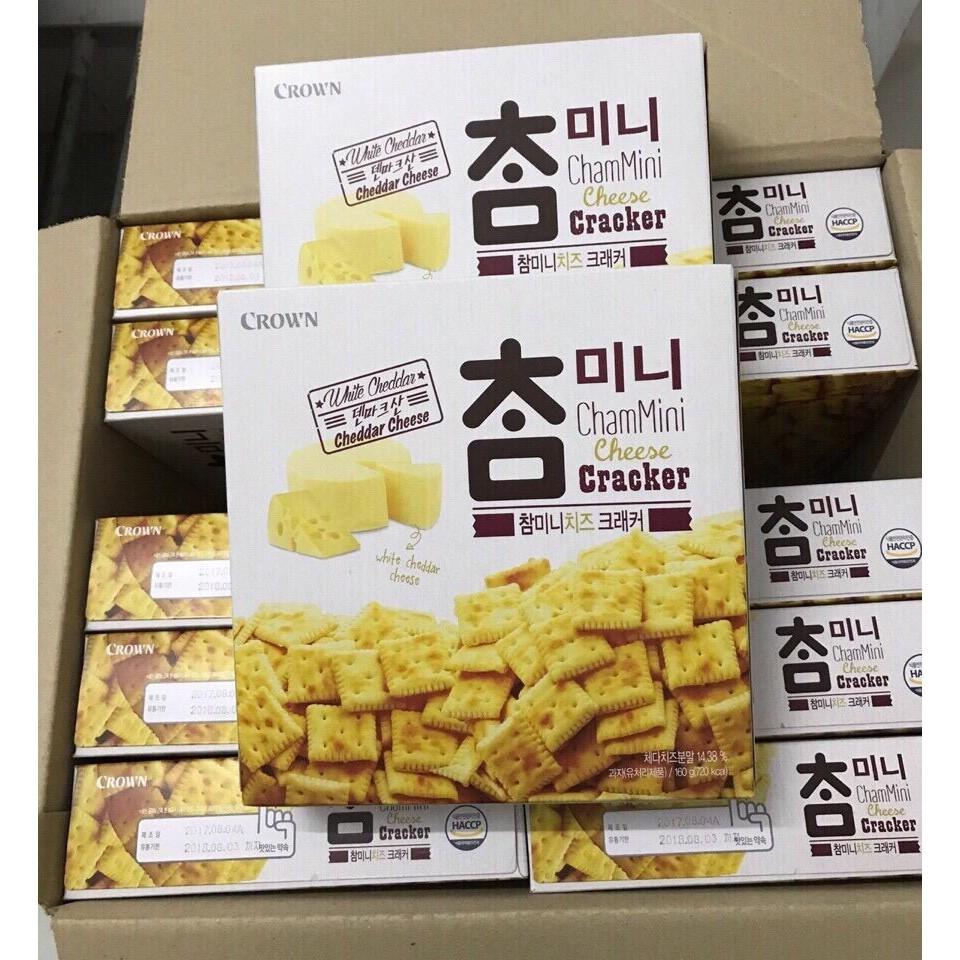 1 thùng bánh crown phô mai hàn quốc ( thùng 12 gói ) - 2862449 , 650950083 , 322_650950083 , 740000 , 1-thung-banh-crown-pho-mai-han-quoc-thung-12-goi--322_650950083 , shopee.vn , 1 thùng bánh crown phô mai hàn quốc ( thùng 12 gói )