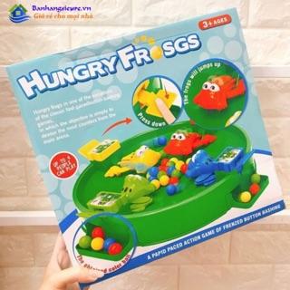 [RẺ NHẤT] Bộ Đồ chơi ếch ăn mồi Hungry Frog- Dành cho bé