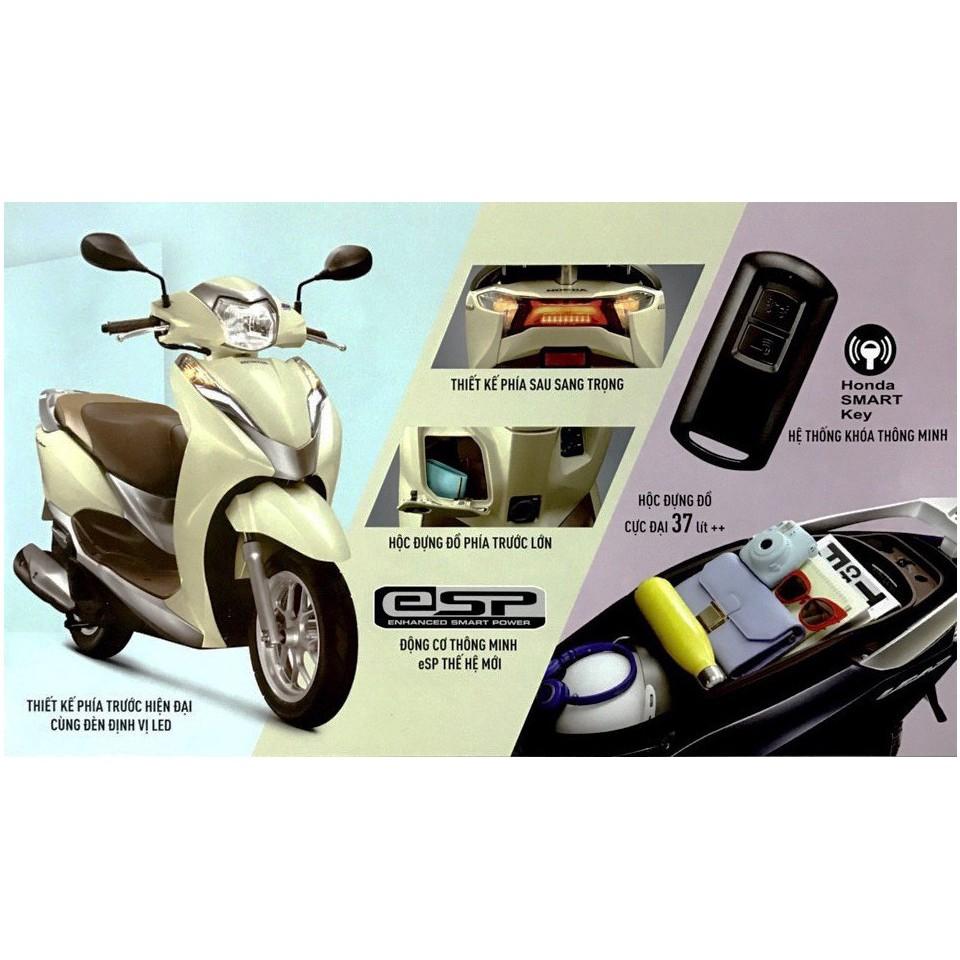 Khóa thông minh smartkey FOB Honda Lead. Honda Air Blade, Vision Khóa thông  minh smartkey chính hiệu honda - Phụ tùng thay thế khác
