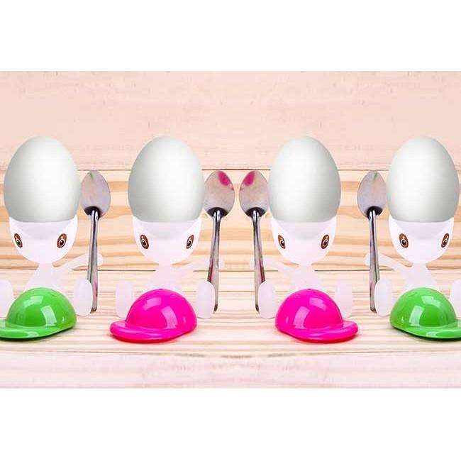 Dụng Cụ Ăn Trứng Vịt Lộn Ngộ Nghĩnh Cho Gia Đình