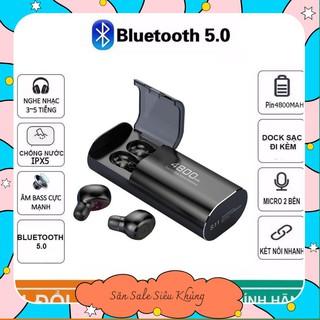 Tai nghe Bluetooth Kiêm Sạc Dự Phòng Amoi S11 TWS 4800 mAh Công Nghệ 5.0 Không Dây Nghe Nhạc Sống Động janna.shop5 thumbnail