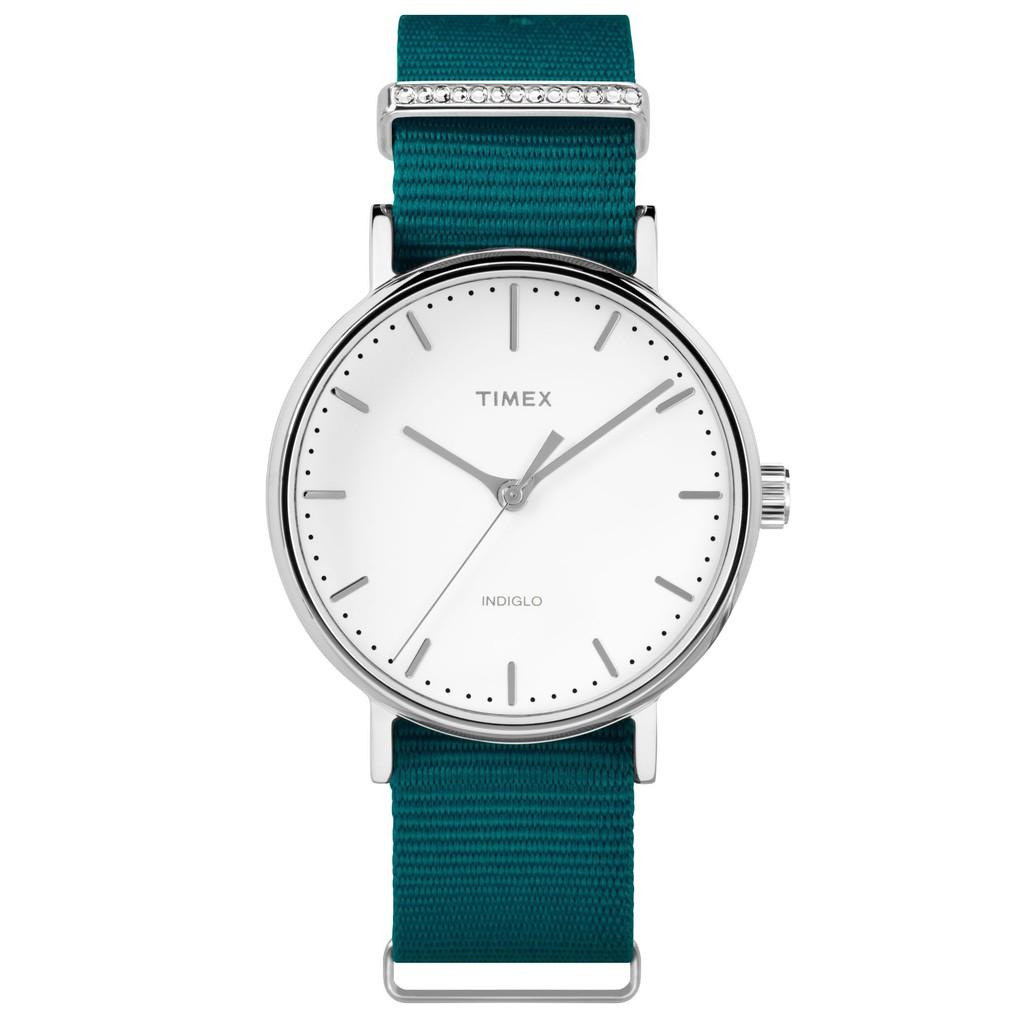 Đồng hồ Nữ Timex Fairfield Crystal 37mm - TW2R49000