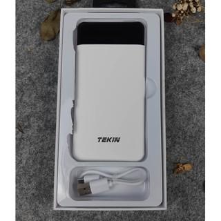 [Mã ELFLASH5 giảm 20K đơn 50K] [Hàng chính hãng] Pin sạc dự phòng Tekin Smart 10000mAh Q1031 cao cấp