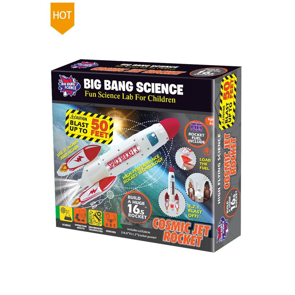 Bộ lắp ráp tên lửa nước cho trẻ từ 8 tuổi đam mê khoa học