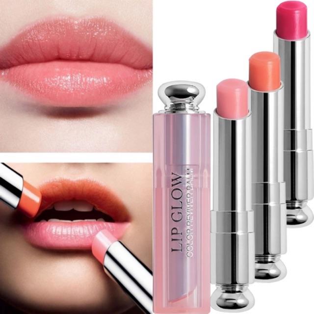 (Bill)Son dưỡng Dior Lip Glow 001 Pink Matte Glow Holo Glow