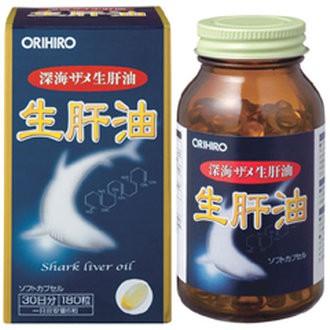 Viên uống dầu gan cá mập ORIHORO 180 VIÊN.