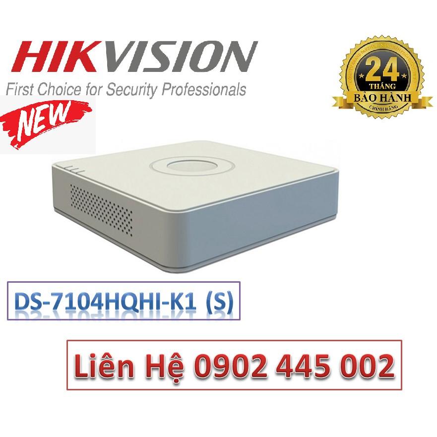 Đầu ghi hình HIKVISION DS-7104HQHI-K1 (S) 4 kênh HD
