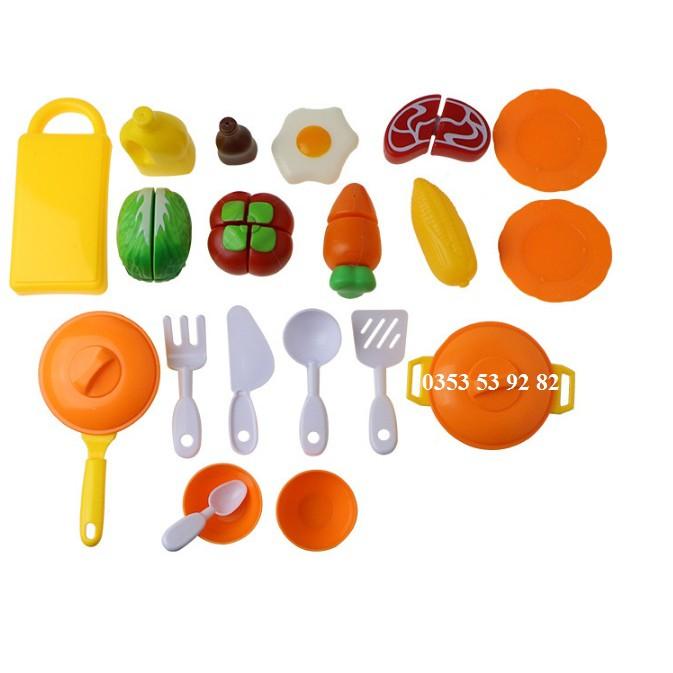 bếp nấu ăn nhựa của thương hiệu Cikoo