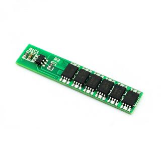 Single 3.7V Lithium Battery Protection Board 3/4 MOS 18650 Polymer Protection Board 7.5A Working Current