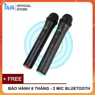 [BH 24 THÁNG] Combo 2 Micro Karaoke Bluetooth Không Dây Song Ca V20 -  Âm vang có ECHO - Thu Âm Nhạy - Không Bị Rè Hú