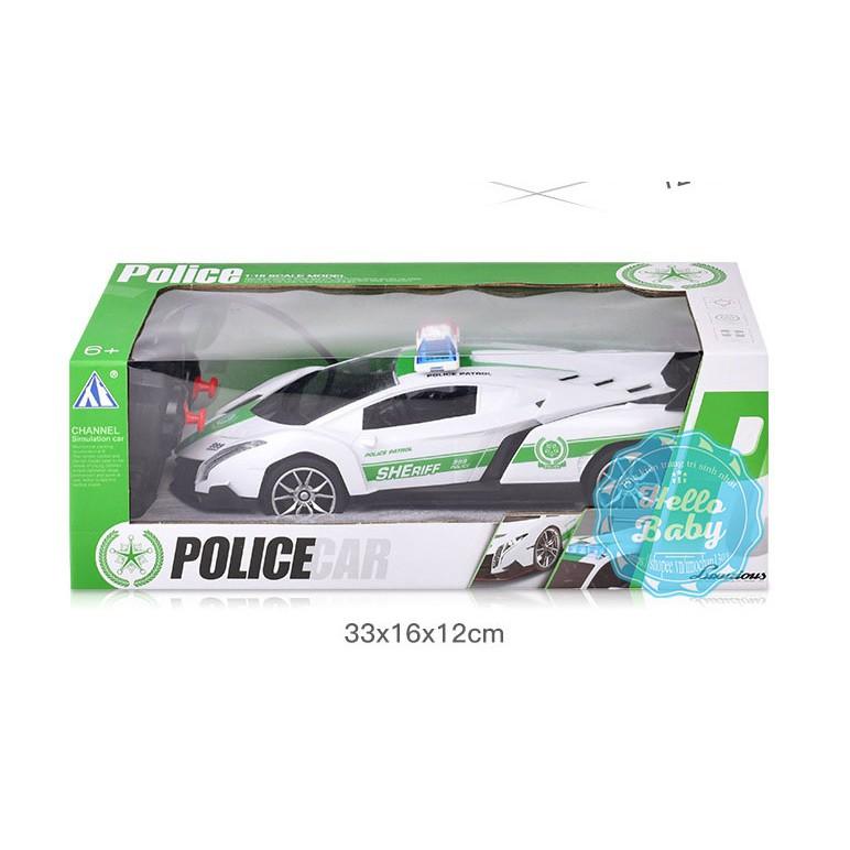 Ô tô cảnh sát điều khiển từ xa cho bé
