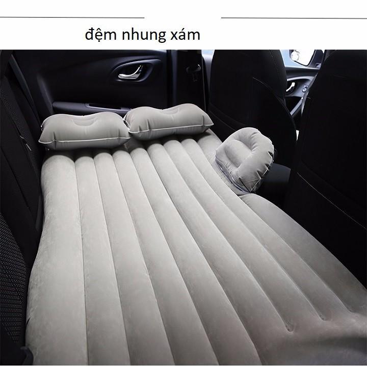 Đệm giường hơi ô tô màu xám tiện lợi New 2019 (Hàng mới) (đơn hàng từ 99K FREESHIP)