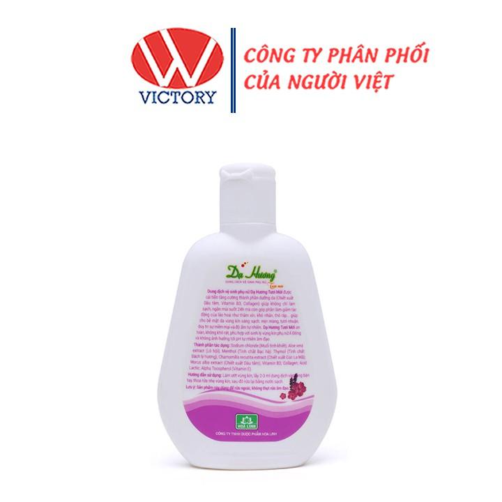 Dung Dịch Vệ Sinh Phụ Nữ Dạ Hương Tím (100ml) - Victory Pharmacy