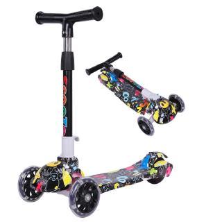 Xe Scooter Điều Chỉnh 5 Bánh 3 Trong 1 Cho Bé