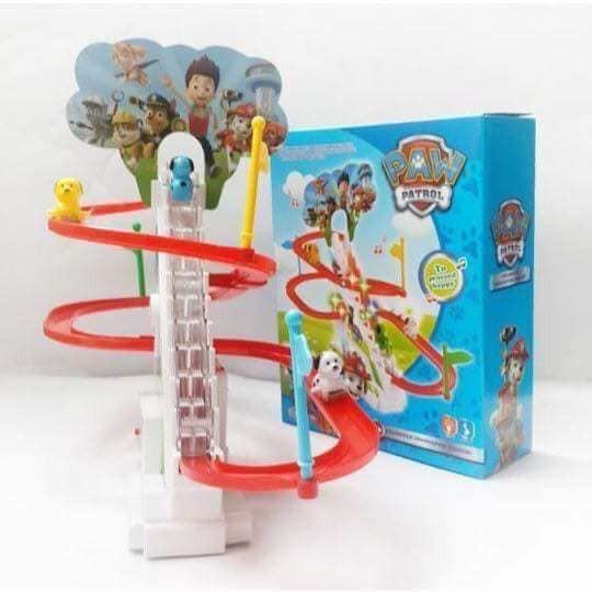 Bộ đồ chơi cầu trượt poly