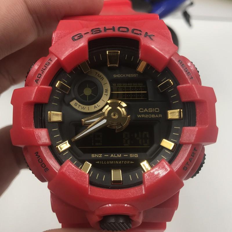 แท้ Casio Electronic Wrist Watch g-shock GA-700 Men Women Sports Watch