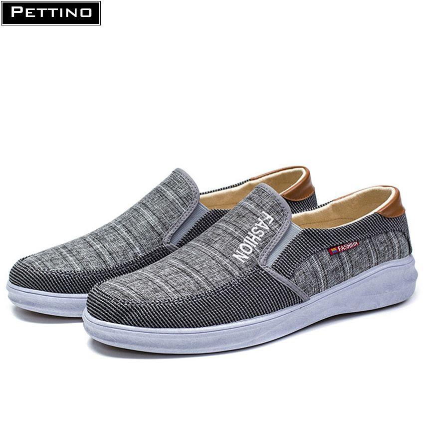 Giày Lười Vải Nam Phong Cách 2019 Pettino KL03.