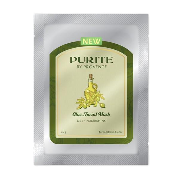 Mặt Nạ Nuôi Dưỡng Mềm Mịn Olive Facial Mask - Purite By Provence