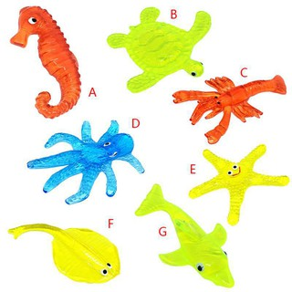 Bettertogether:Simulation Animal TPR Toys Stretchy StickyWall Climbing Toys