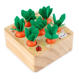 Baby Pulling Radishes Toy Children Educational Force Fight Inserted Carrot Game