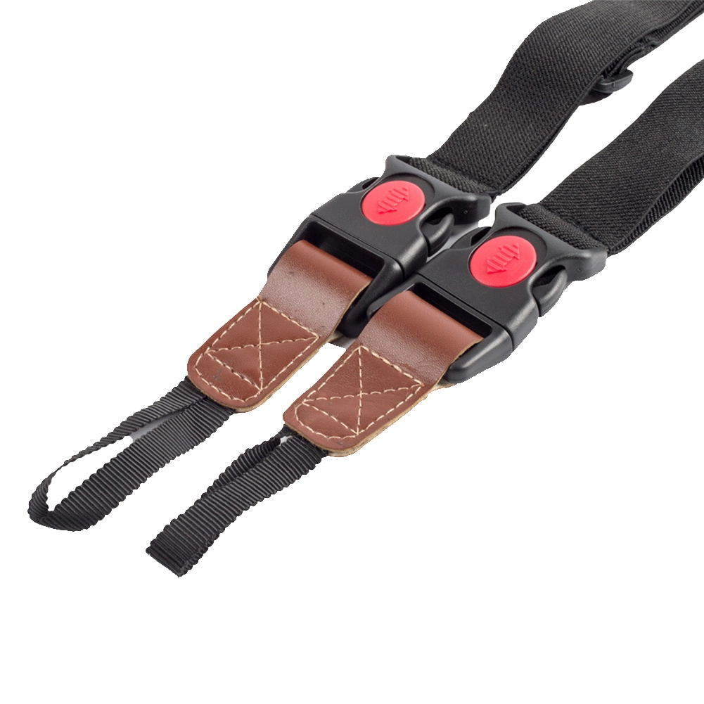 Double Shoulder Photography Outdoor Protective Camera Strap Buckle Adjustable For Xiaoyi SJ