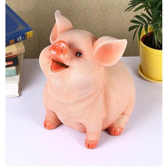 Heo Đất Tiết Kiệm – Lợn Đất Tiết Kiệm Mẫu Hot 2020 Chất Liệu Thạch Cao Cứng Sơn Bóng Siêu Đẹp