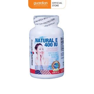 Viên uống Vitamin E 400IU 60v Principle Nutrition thumbnail