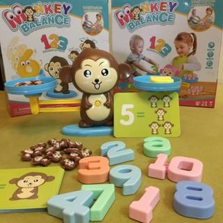 đồ chơi khỉ cân bằng cho bé