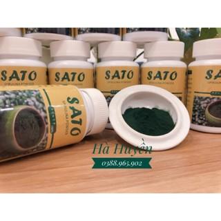 Bột tảo Xoắn Sato NB – Cấy Tảo Nano 100g .