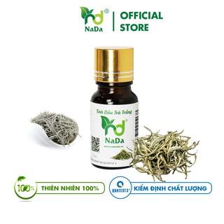 Tinh dầu Trà Trắng nguyên chất Nada Kiểm định QT3 Thư giãn, Giảm Stress, Ngủ Ngon, Thơm nhẹ 10ml, 50ml, 100ml thumbnail