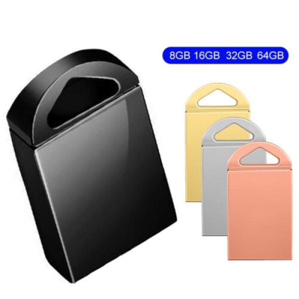 USB 2.0 8/16/32/64GB Flash Drives Memory Metal Flash Drives Pen Drive U Disk Giá chỉ 82.000₫