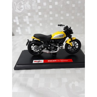 Mô hình xe Maistor tỷ lệ 1:8: Ducati Scrambler