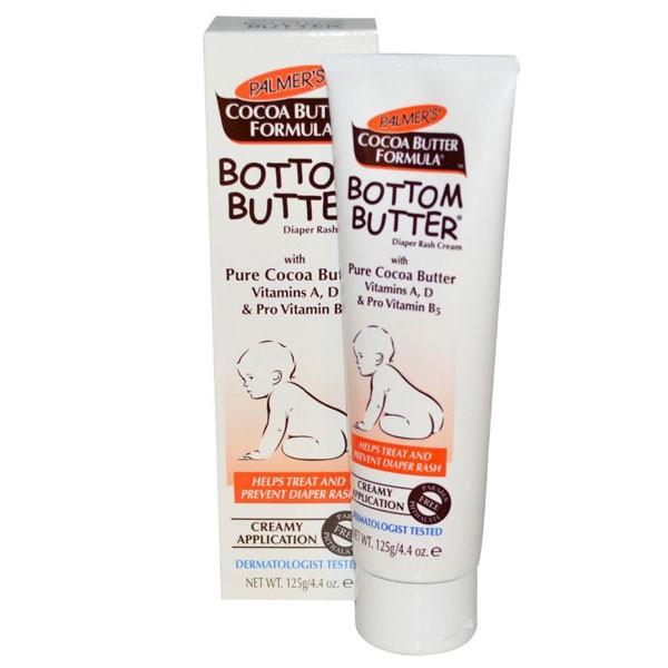 Kem hỗ trợ điều trị & ngăn ngừa hăm tã cho bé Bottom Butter Zinc Oxide Formula - Palmer