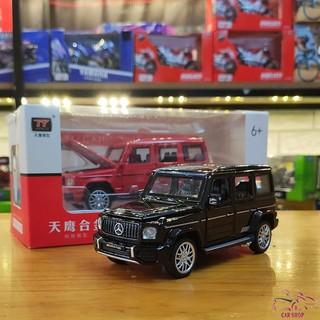 Xe mô hình hợp kim Mercedes G63 AMG tỉ lệ 1:32 màu đen hàng Quảng Châu