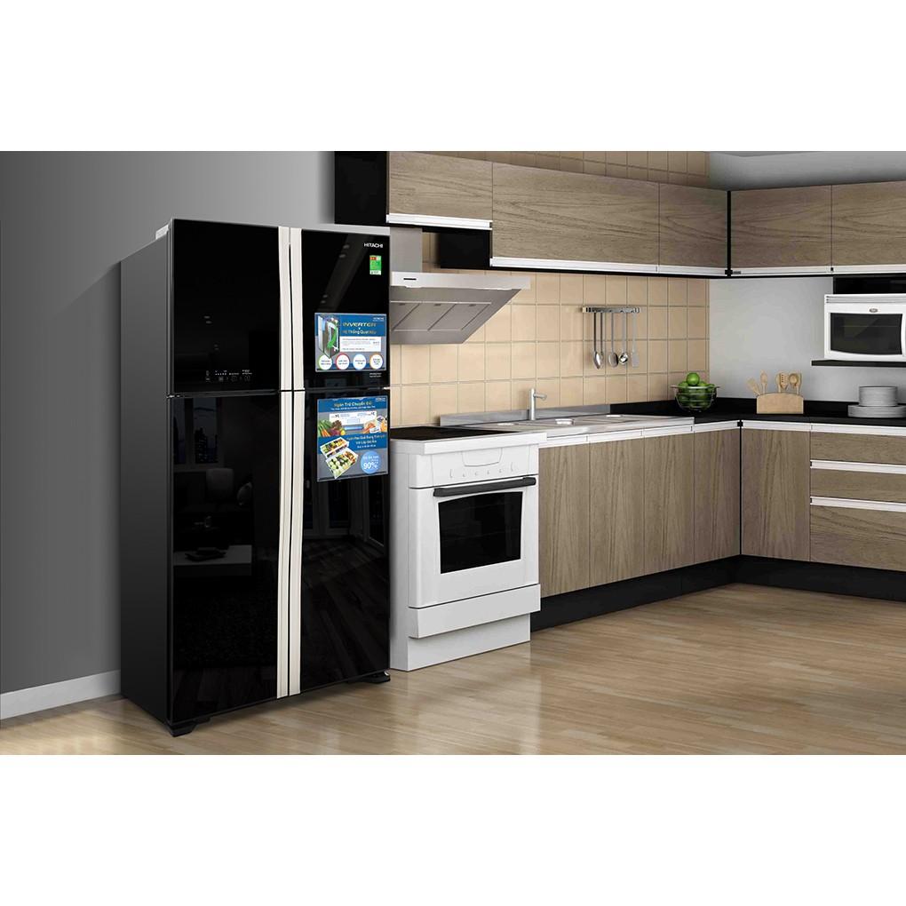 Tủ lạnh Hitachi R-FW650PGV8-GBK