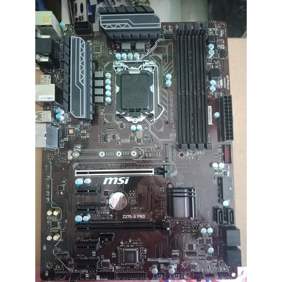 Main MSI Z270-A PRO (Chipset Intel Z270/ Socket LGA1151/ VGA onboard)    Shopee Việt Nam