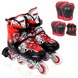 Giày trượt patin Keenstore mẫu LF 906 đèn led bánh trước – size S – M – L