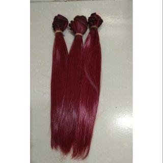 Tép tóc may wig cho búp bê dài 25cm