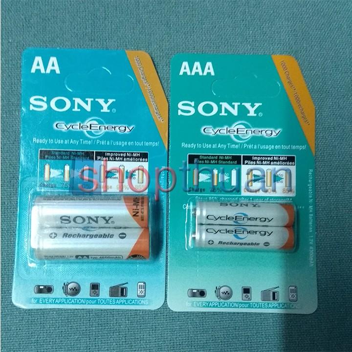 Pin Sạc AA - AAA Sony CycleEnergy ( pin sạc được )