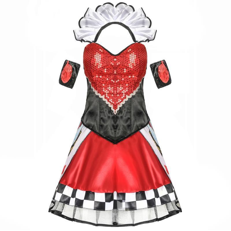 Trang Phục Hóa Trang Halloween Nữ Hoàng Quyến Rũ Cho Nữ